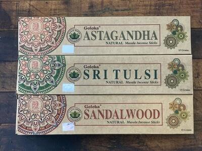 Goloka Sandalwood Incense