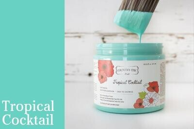 Country Chic Paint 4 oz Tropical Cocktail