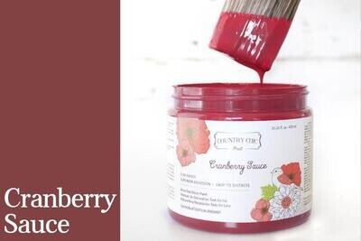 Country Chic Paint 4 oz Cranberry Sauce