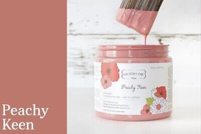 Country Chic Paint 4 oz.Peachy Keen