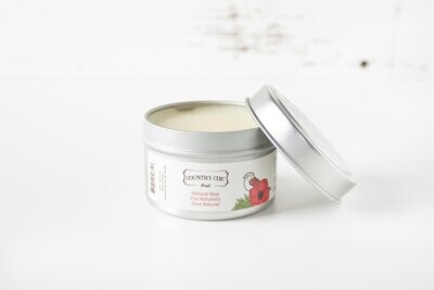 Country Chic Natural Wax Small