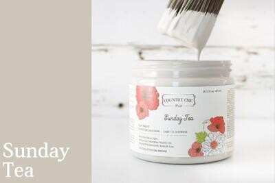 Country Chic Paint Pint (16 oz.) Sunday Tea