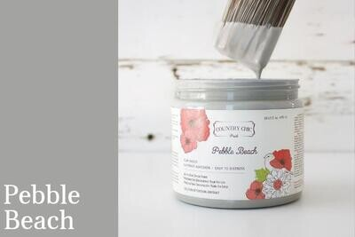 Country Chic Paint Pint (16 oz.) Pebble Beach