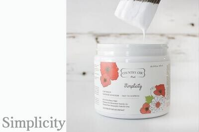 Country Chic Paint Pint (16 oz.) Simplicity