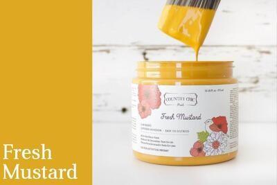 Country Chic Paint Pint (16 oz.) Fresh Mustard