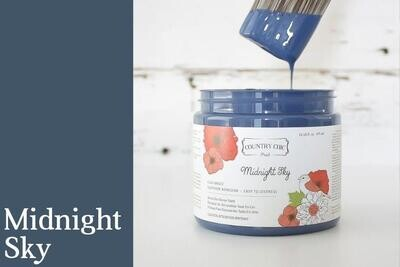 Country Chic Paint Pint (16 oz.) Midnight Sky
