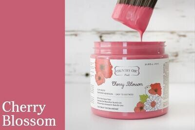 Country Chic Paint Pint (16 oz.) Cherry Blossom