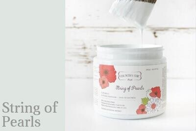 Country Chic Paint Pint (16 oz.) String of Pearls