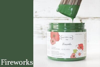 Country Chic Paint Pint (16 oz.) Fireworks