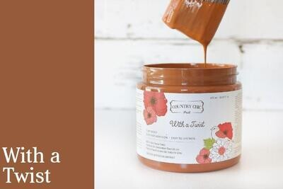 Country Chic Paint Pint (16 oz.) With a Twist