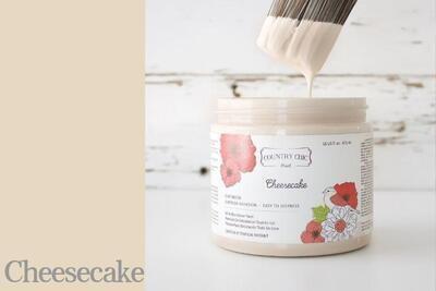 Country Chic Paint Quart (32 oz.) Cheesecake