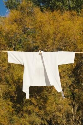 Kimono blanco 'Osaka' | Upcycled