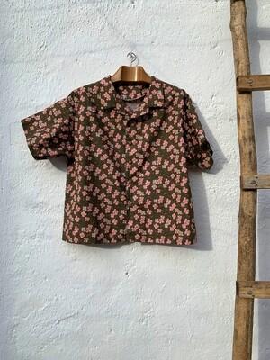Camisa Theresa flores cerezo