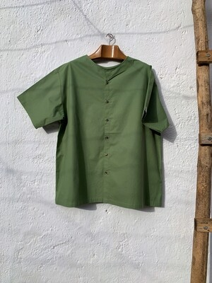 Blusa two-way verde pastel