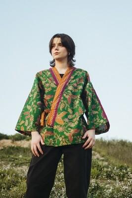 Kimono estampado 'Borneo'