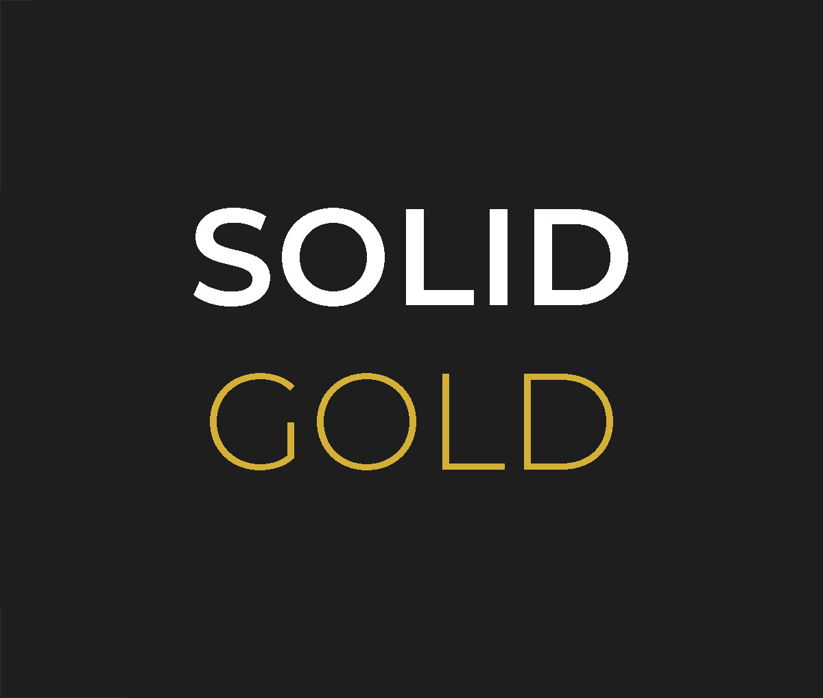 Solid Gold Party Package