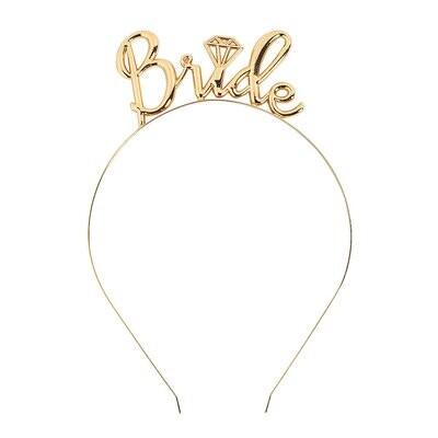 Bride Headband (Gold)
