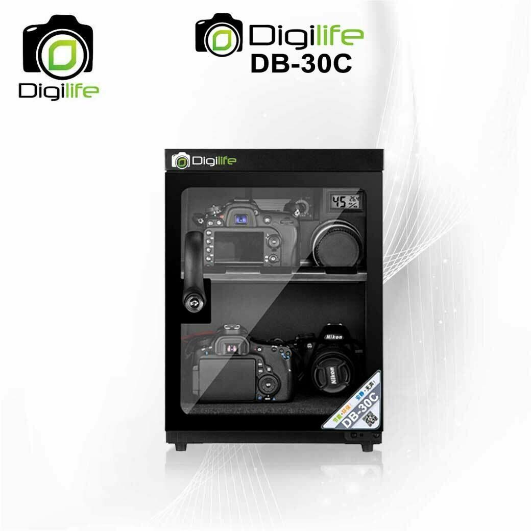 Dry Cabinet DB-30C  ตู้กันชื้น 30L ลิตร - รับประกันร้าน 3ปี