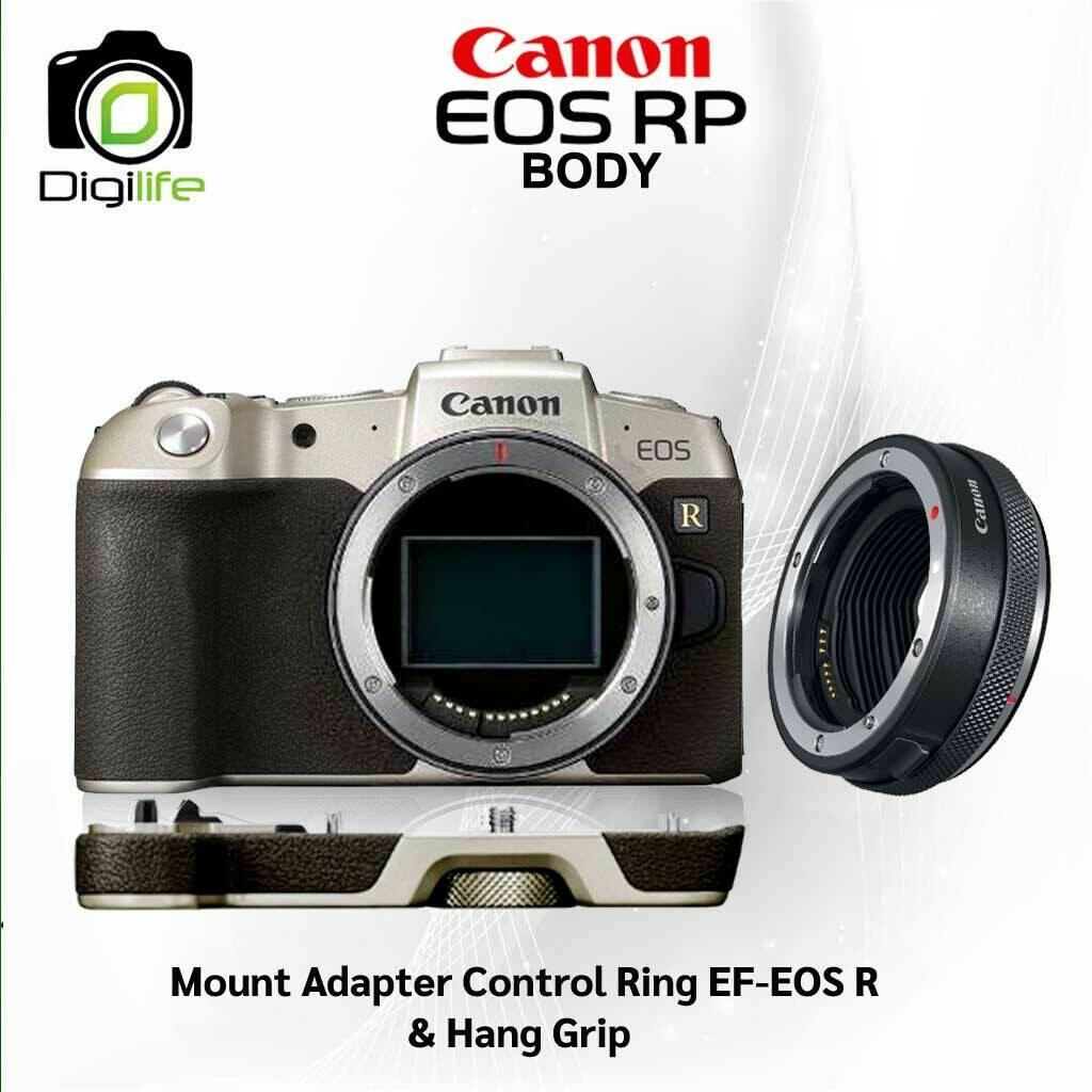 Canon Camera EOS RP [ Gold Limited ] Body ** พร้อม Hand Grip + Adapter EF-EOS R