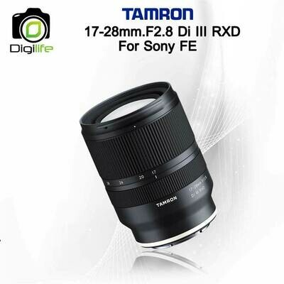 Tamron Lens 17-28 mm. F2.8 Di III RXD For Sony FE , E