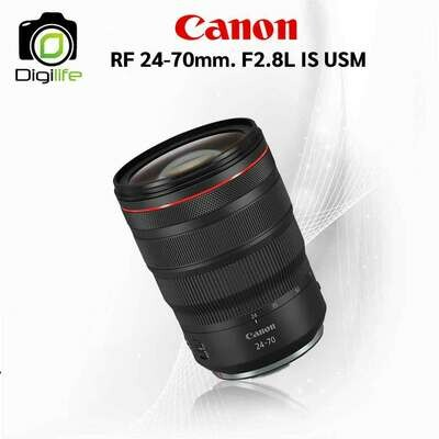 Canon Lens RF 24-70 mm. F2.8L IS USM [ For R, RP ]
