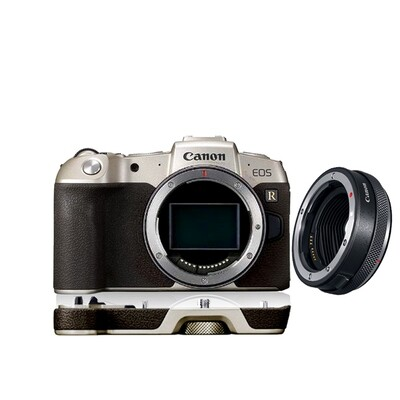 Canon Camera EOS RP [ Gold Limited ] Body With Hand Grip & Adapter EF-EOS R - รับประกันร้าน Digilife Thailand 1ปี