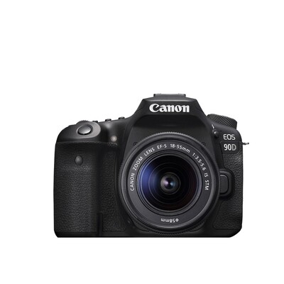 Canon Camera EOS 90D Kit 18-55 mm.IS STM - รับประกันร้าน Digilife Thailand 1ปี