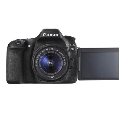 Canon Camera EOS 80D Kit 18-55 mm.IS STM - รับประกันร้าน Digilife Thailand 1ปี