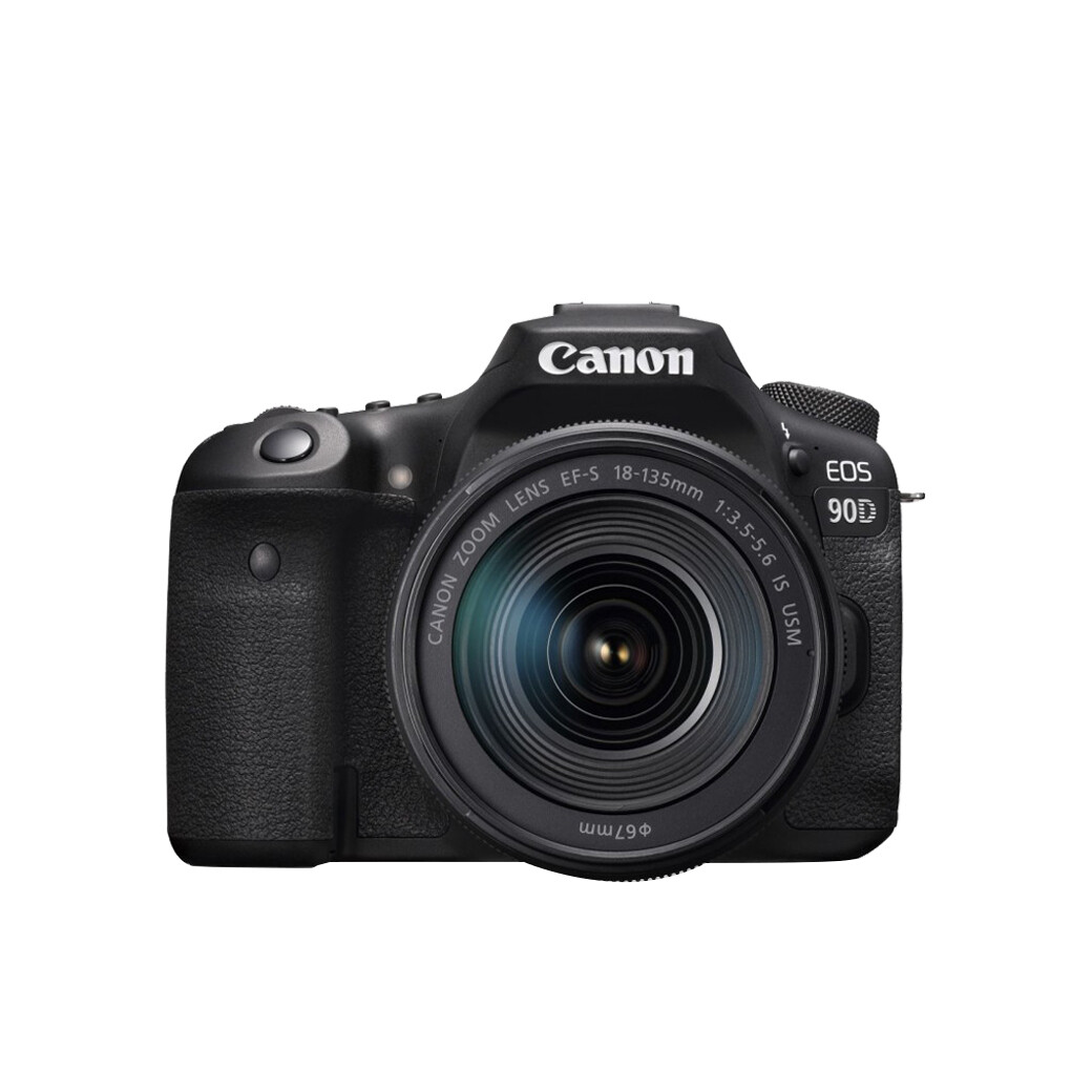 Canon Camera EOS 90D Kit 18-135 mm.IS STM / IS NANO USM - รับประกันร้าน Digilife Thailand 1ปี
