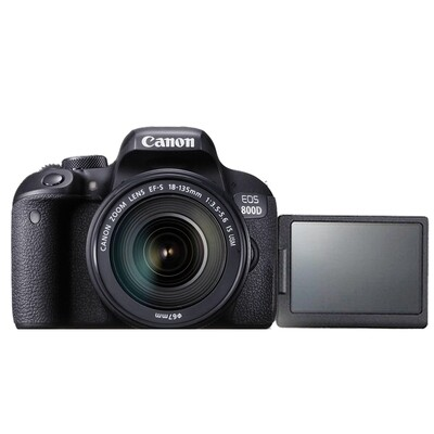 Canon Camera EOS 800D Kit 18-135 mm.IS STM / IS NANO USM - รับประกันร้าน Digilife Thailand 1ปี