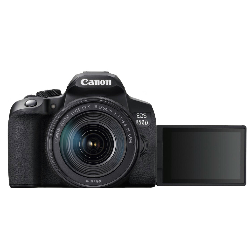Canon Camera EOS 850D Kit 18-135 mm. IS STM/ IS USM NANO - รับประกันร้าน Digilife Thailand 1ปี