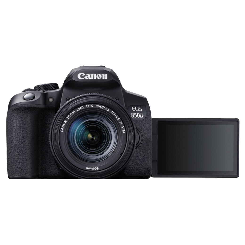 Canon Camera EOS 850D Kit 18-55 mm.IS STM - รับประกันร้าน Digilife Thailand 1ปี