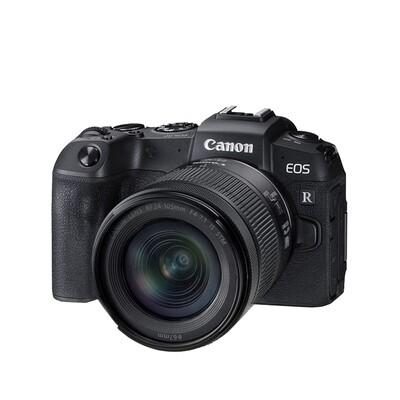 Canon Camera EOS RP [ Black ] Kit RF 24-105 mm. F4-7.1 IS STM - รับประกันร้าน Digilife Thailand 1ปี