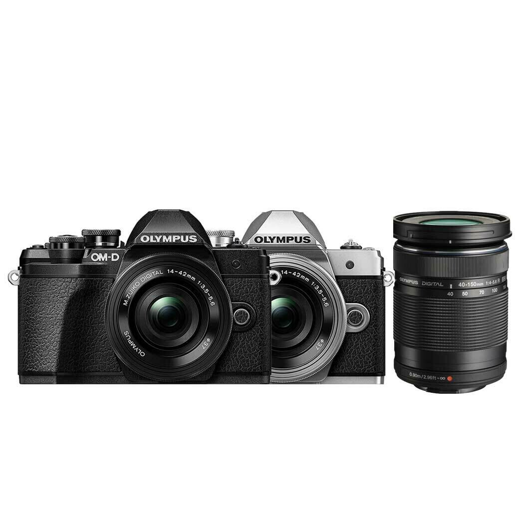 Olympus Camera OMD E-M10 Mark3 Double Kit (14-42 & 40-150mm.)- รับประกันร้าน Digilife Thailand 1ปี