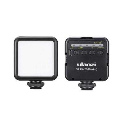 Ulanzi  VL49 Mini LED 2000 mAh 5500K * รับประกันร้าน 3 เดือน