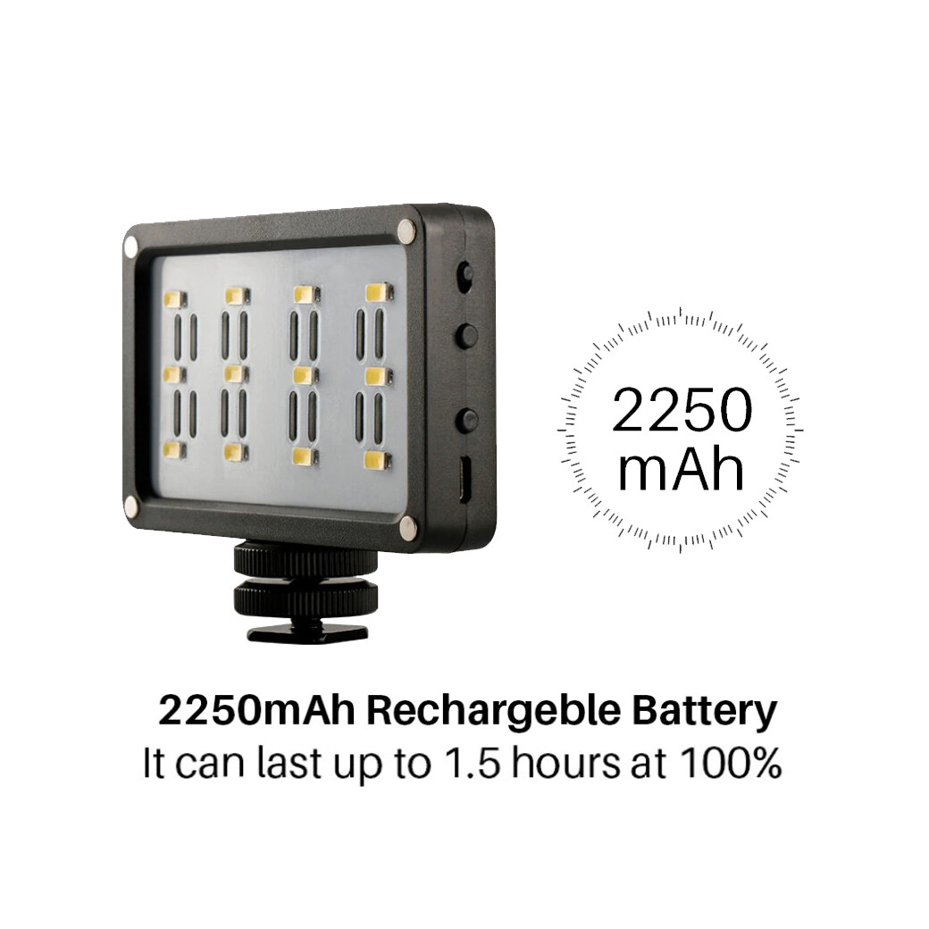 Ulanzi Mini LED Cardlite 2250 mAh* รับประกันร้าน 3 เดือน