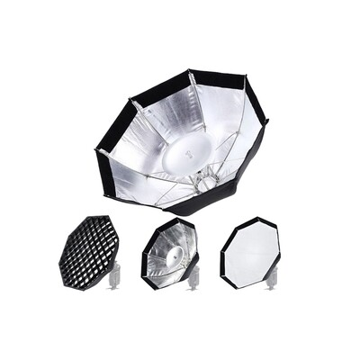 Godox Softbox AD-S7 Multifunctional Octa With Grid ( For AD200 , AD200Pro , AD180 , AD360 , AD360II )