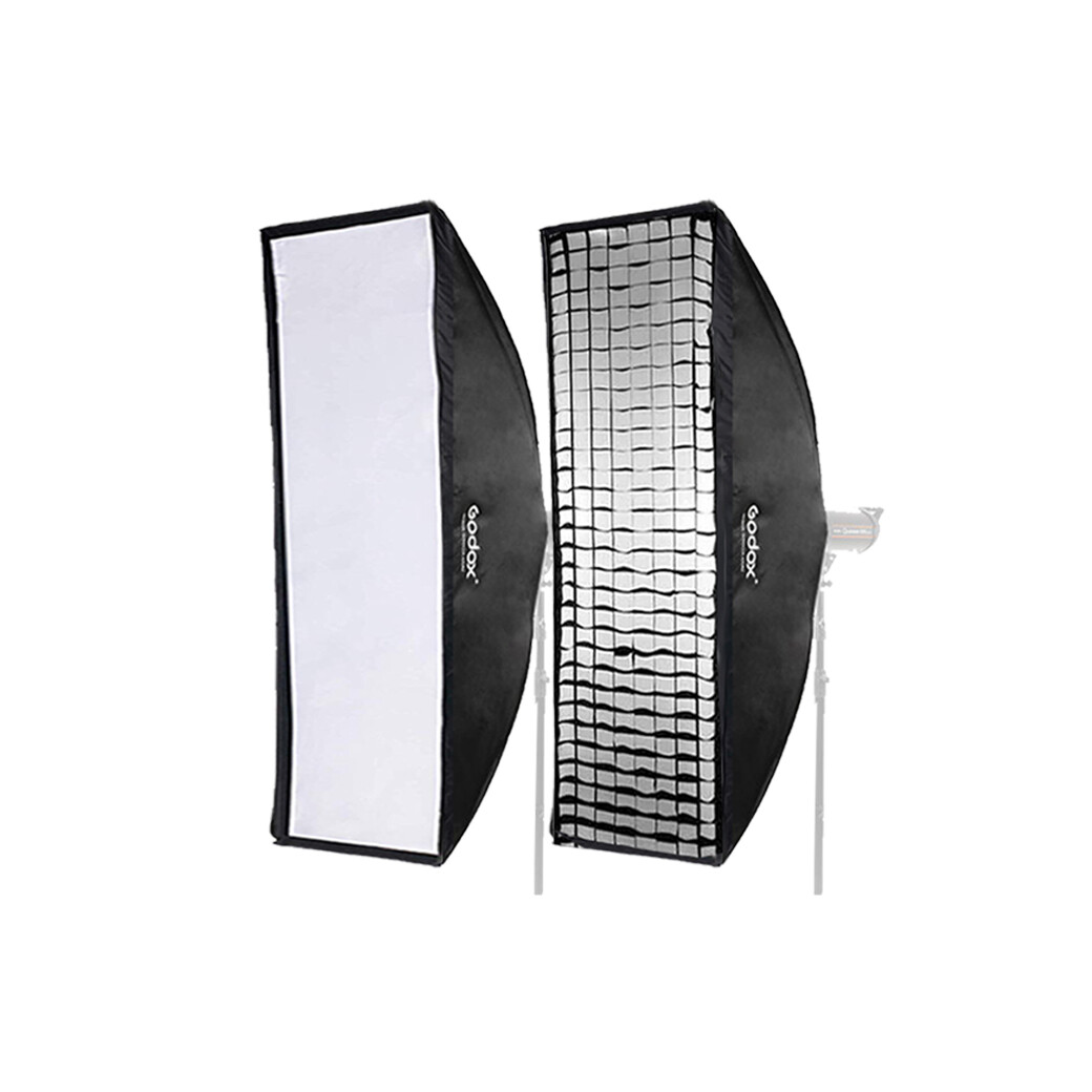 Godox Softbox SB-FW 30*120 cm. With Grid  [ Bowen Mount ]