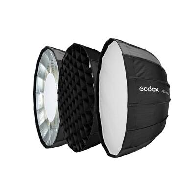 Godox AD-S85S Parabolic Softbox 85 cm. With Grid ( Godox Mount For AD300 Pro  AD400 Pro  ML60 )