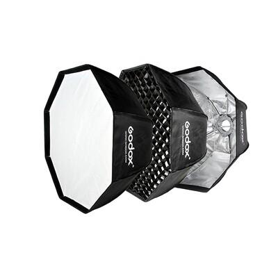 Godox Softbox SB-GUE 95 cm. Octa Umbrella Softbox With Grid [ Bowen Mount ]