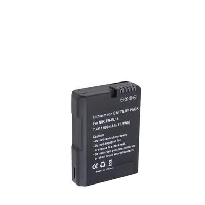 OEM Battery EN-EL14 For Nikon Camera - รับประกันร้าน Digilife Thailand 3 เดือน