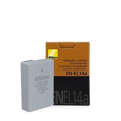 Nikon Battery EN-EL14a , EN-EL14 ( ของแท้ ) - รับประกันร้าน Digilife Thailand 3 เดือน