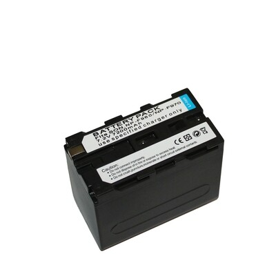 OEM Battery NP-F970 (7200 mAh) For LED Light / Video light - รับประกันร้าน Digilife Thailand 3 เดือน