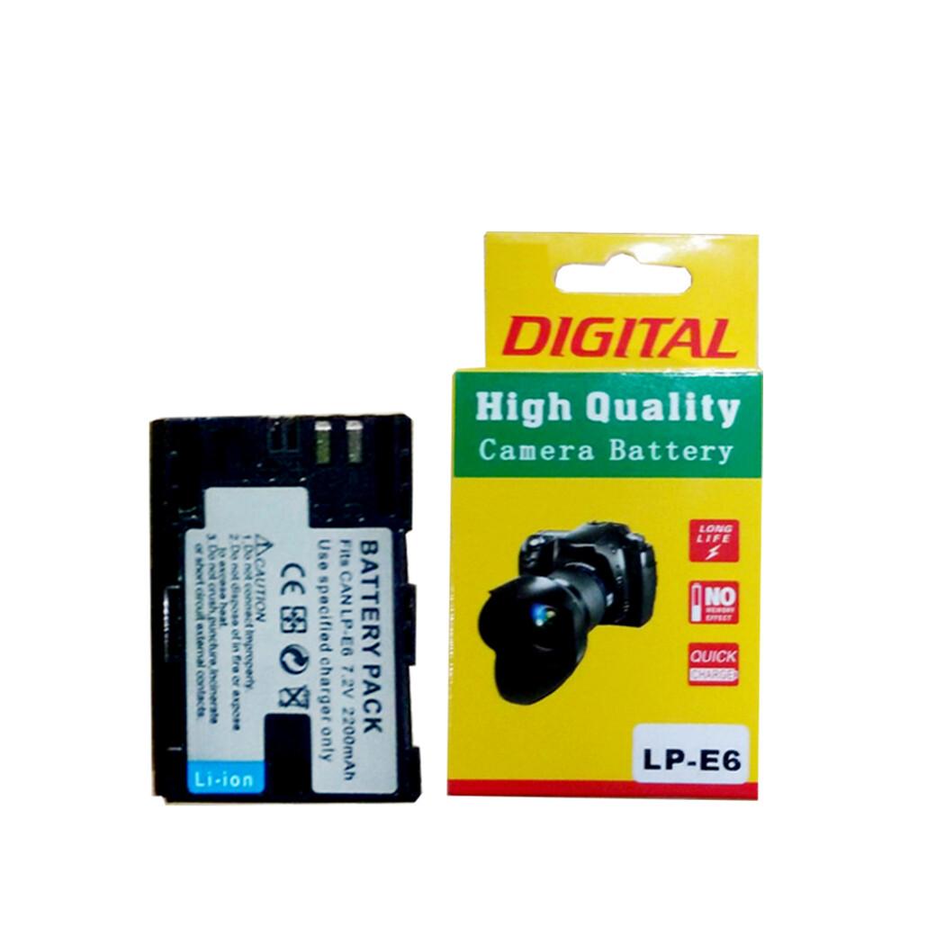 OEM Battery LP-E6 / For Canon 5D  6D  7D 80D  90D - รับประกันร้าน Digilife Thailand 3 เดือน