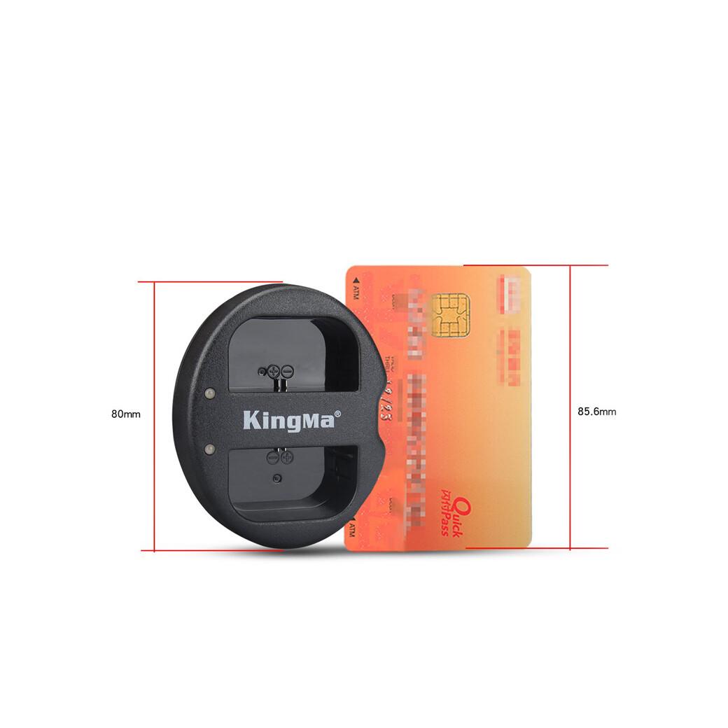 Kingma Charger EN-EL14 - USB Dual Charger / For Nikon