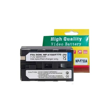 OEM Battery NP-F750 ( 4800 mAh) ) For LED Light / Video light- รับประกันร้าน Digilife Thailand 3 เดือน