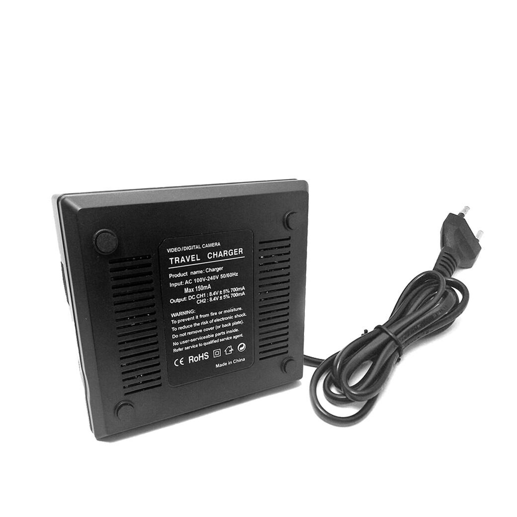 OEM Dual Charger For NP-F750 / F770 / F960 / F970 For LED Light * ชาร์จ 2ก้อนพร้อมกัน