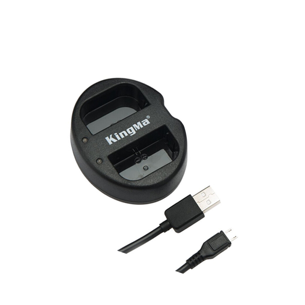 Kingma Charger LP-E12 / USB Dual Charger - For Canon M ( ชาร์จเจอร์แบบคู่ )