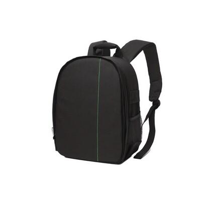 Indepman Camera Backpack Bag กระเป๋าเป้กล้องสีดำ ( อินเสิร์ทคละสี )