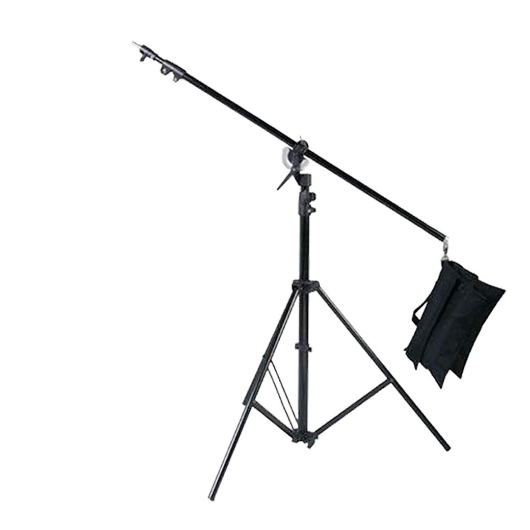 Boom Ligth Stand M2 เหล็กกล้า รับน้ำหนัก 10กก. - สูงสุด 280 ซม. ขาบูม- รับประกันร้าน Digilife Thailand 1ปี